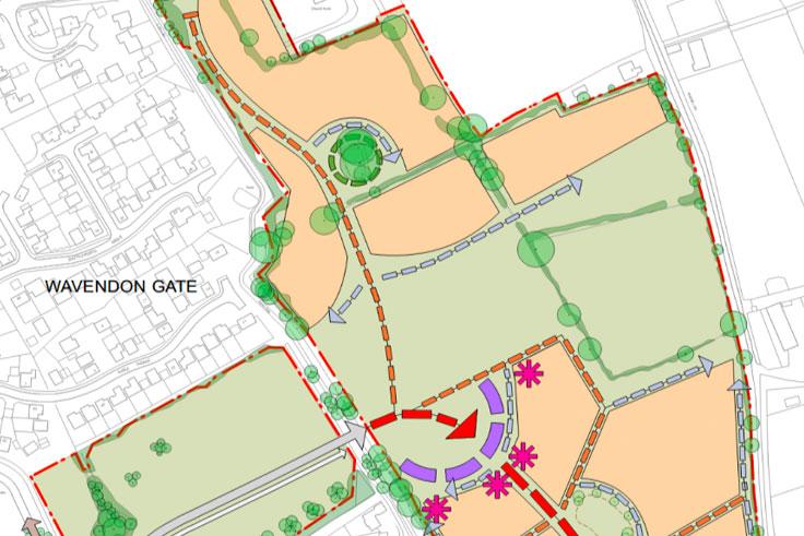 Church Farm Map