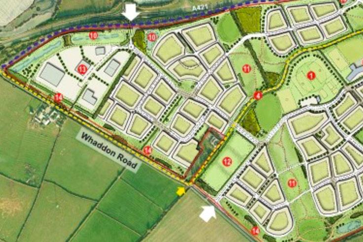 Dagnall Farm Map